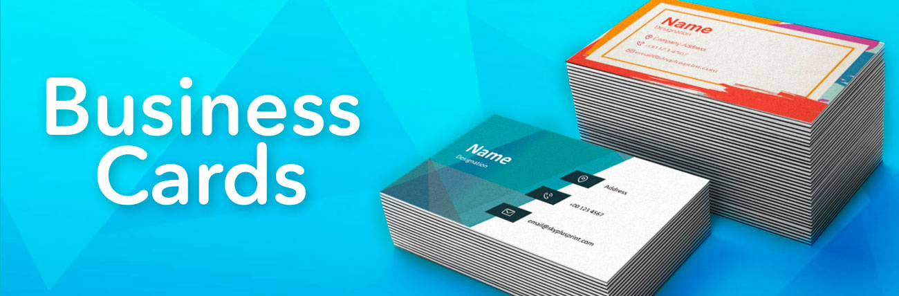 Business Cards Make Your Own Custom Cards Sky Plus Print Your